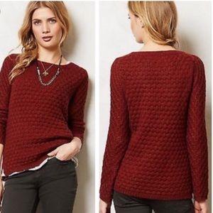 Anthropologie Field Flower Rennes Sweater Pullover